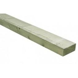 Tringle  pin traitée classe IV ép 25mm x 76mm long 4m ou 4m20