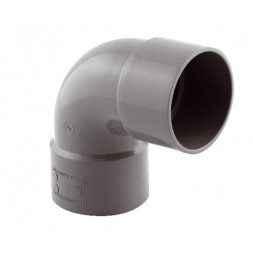 Coude pvc 87°  50mm f/ f