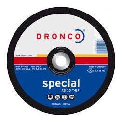 Disque à métaux 230 x 2 x 22.23mm - DRONCO