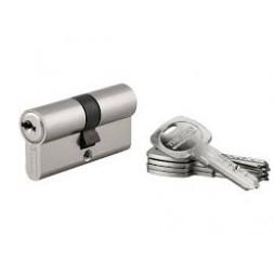 Cylindre profile 30x30mm jeu de deux avec 6 clés - THIRARD