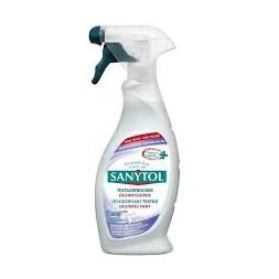 Désodorisant désinfectant spécial textiles 500ML - SANYTOL