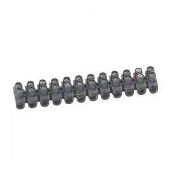 Barrette domino 10mm noire - LEGRAND