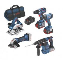 Pack 5 outils sans fil 18V - BOSCH PRO
