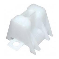 Tasseau  plastique nervuré - sachet 100 unités