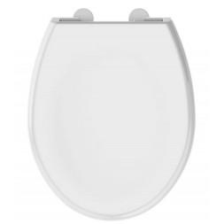 Abattant de toilette blanc  Boreo