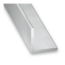 Cornière aluminium brut 35 x 35 x 1.5mm x 1m