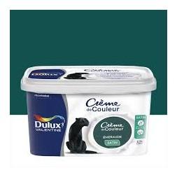 Dulux Valentine crème couleur émeraude 2.5 l