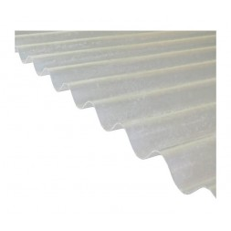 Tôle ondulée polyester 76/100ème