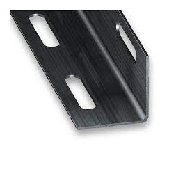 Cornière perforée PAF verni 27 x 27mm - CQFD