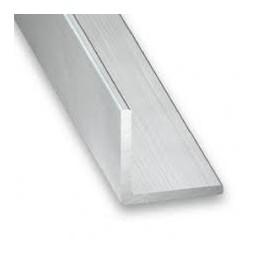 Cornière aluminium brut 30 x 30 x 1.5mm x 2m