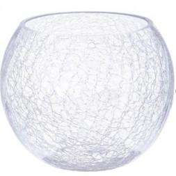 Vase boule craquelé - ATMOSPHERA