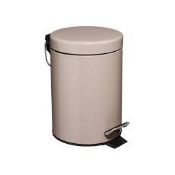 Poubelle de salle de bain taupe 3L - ATMOSPHERA