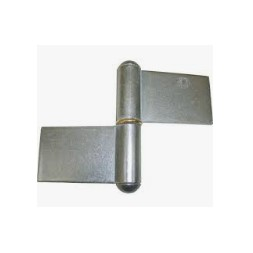 Paumelle Grille Extra Fort 100mm