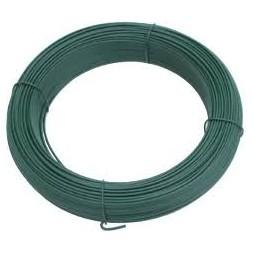 Fil tension plastifié vert 3mm 100m